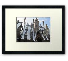 Three broomsticks Framed Print