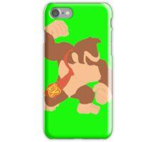 Simplistic Donkey Kong iPhone Case/Skin