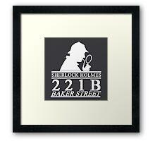 Sherlock Holmes Address 3 Framed Print