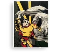 Mighty Mouse Canvas Print