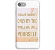 Your Mindset iPhone Case/Skin