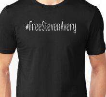 #FreeStevenAvery - White Clean Unisex T-Shirt