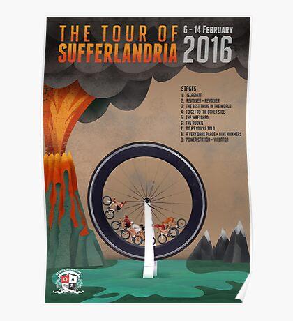 Tour of Sufferlandria 2016 - Official Artwork Poster