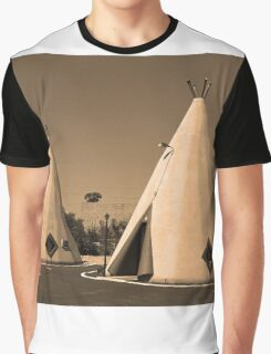 Route 66 - Wigwam Motel Graphic T-Shirt