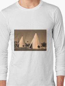 Route 66 - Wigwam Motel Long Sleeve T-Shirt