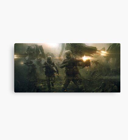 Battlefield Canvas Print