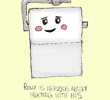 Rolly the Toilet Roll by erynnltdesigns