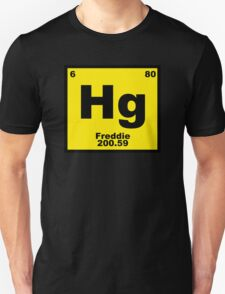 Freddie Mercury Chemistry Nerd Science Geek Queen Womens Mens T-Shirt