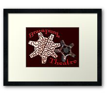 BrainPunk Theatre - Thought-Driven Entertainments Since 2016 Framed Print