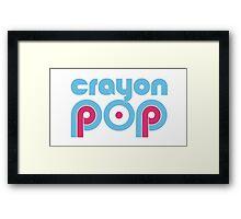 Crayon Pop Framed Print