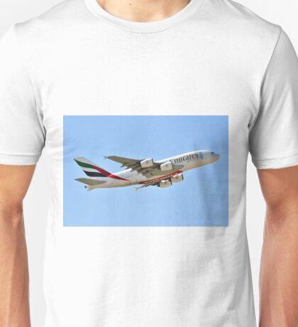 EMIRATES A380-861 REG A6-EEX Unisex T-Shirt