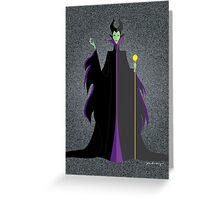 Mistress of All Evil Greeting Card