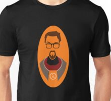 Half Life Gordon Freeman Vector Unisex T-Shirt