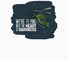 Flying into the heart of darkness Unisex T-Shirt
