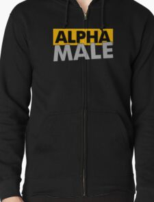 Alpha Male Funny Geek Nerd T-Shirt