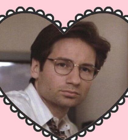 david duchovny heart Sticker