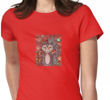 Funky Fox Womens Fitted T-Shirt