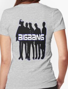 ♥♫Love BigBang Cool K-Pop Clothes & Phone/iPad/Laptop/MackBook Cases/Skins & Bags & Home Decor & Stationary♪♥ Womens Fitted T-Shirt