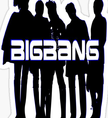♥♫Love BigBang Cool K-Pop Clothes & Phone/iPad/Laptop/MackBook Cases/Skins & Bags & Home Decor & Stationary♪♥ Sticker