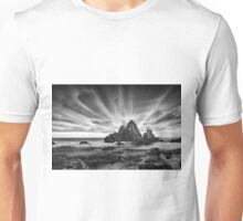 Skyscape in Black and White Unisex T-Shirt