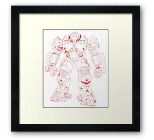 HulkBuster Framed Print