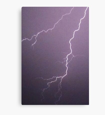 Lightning - downward fork (2010) Canvas Print