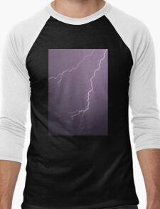 Lightning - downward fork (2010) Men's Baseball ¾ T-Shirt