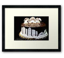 Dessert Is Served! Framed Print
