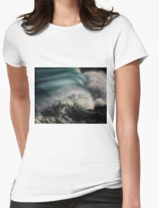 Breaking Wave Womens Fitted T-Shirt