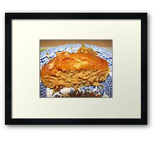 Tickle Your Tastebuds - Treacle Sponge Framed Print