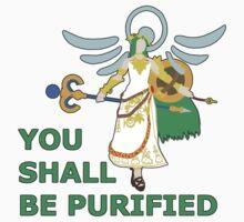 PALUTENA | Super Smash Taunts | You shall be purified One Piece - Short Sleeve