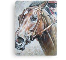 Ivory Pegasus Canvas Print