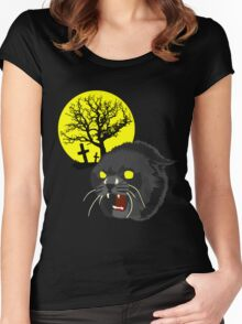 Pet Sematary - Church - Stephen King Women's Fitted Scoop T-Shirt