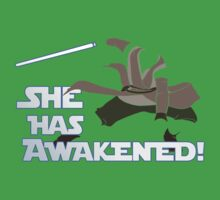 Movies - she has awakened Kids Tee
