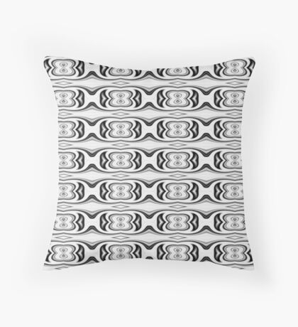 Figure 8 Black and White Pattern Throw Pillow