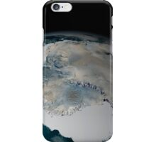 The frozen continent of Antarctica and its surrounding sea ice. iPhone Case/Skin
