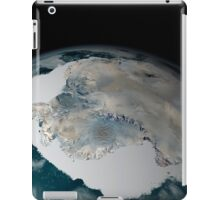 The frozen continent of Antarctica and its surrounding sea ice. iPad Case/Skin