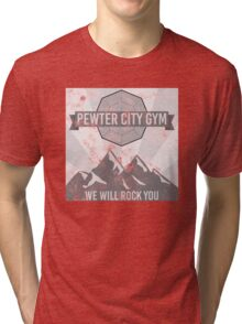 Pewter City Gym Tri-blend T-Shirt