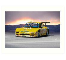 SCCA Mazda GT3 Art Print