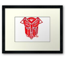 Transform and sell out - Styles666 Framed Print