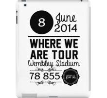 8th June - Wembley Stadium WWAT iPad Case/Skin