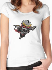 Chibi Zed Women's Fitted Scoop T-Shirt