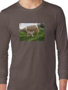 Lamb Suckling From An Ewe T-Shirt