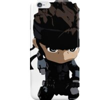 Metal Gear Solid Solid Snake Codec iPhone Case/Skin