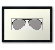 The Aviator Goggles Framed Print