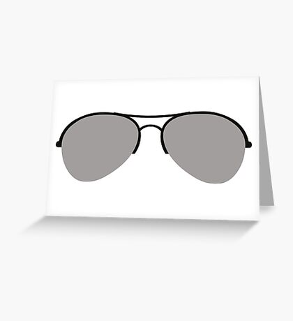 The Aviator Goggles Greeting Card