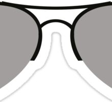 The Aviator Goggles Sticker