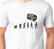 The Evolution of a stalker Unisex T-Shirt