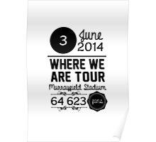 3rd June - Murrayfield Stadium WWAT Poster