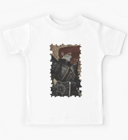 Female Dwarf Tarot Card Kids Tee
